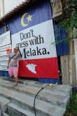 The tagline for Melaka Tourism! LOVE it haha