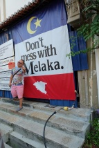 The tagline for Melaka Tourism! LOVE it haha